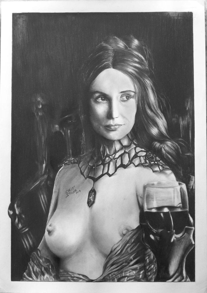 1736290 - A_Song_of_Ice_and_Fire Carice_van_Houten Chris_Petrakos Game_of_Thrones Melisandre