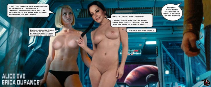 French porn star of star trek