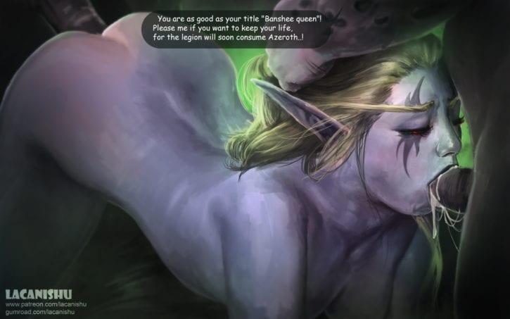 1823515 - Lacanishu Sylvanas_Windrunner Undead World_of_Warcraft