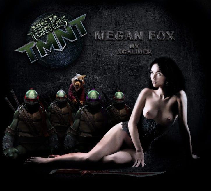 1833234 - April_O'Neil Donatello Leonardo Megan_Fox Michelangelo Raphael Splinter Teenage_Mutant_Ninja_Turtles fakes