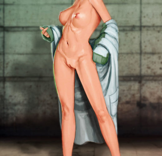 Dr. Vahlen Stripping ~ XCOM Rule 34 by Studio-Pirrate