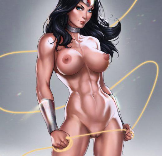 Wonder Woman Nude by Dandon Fuga