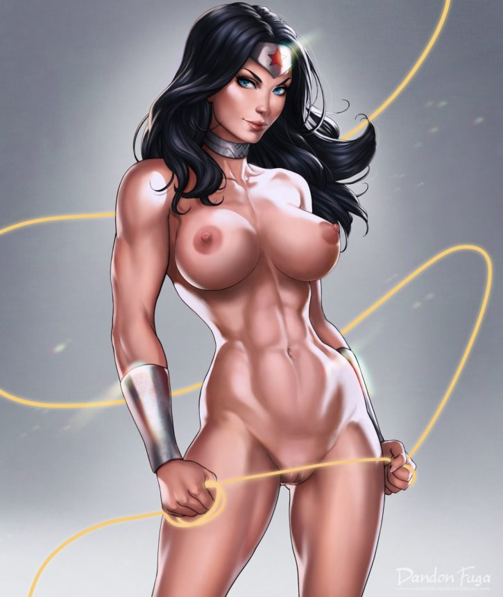 from Ari wonder woman sexy and naked