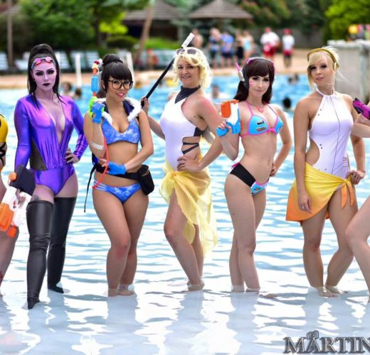 Overwatch Bikini Cosplay by Martin Wong