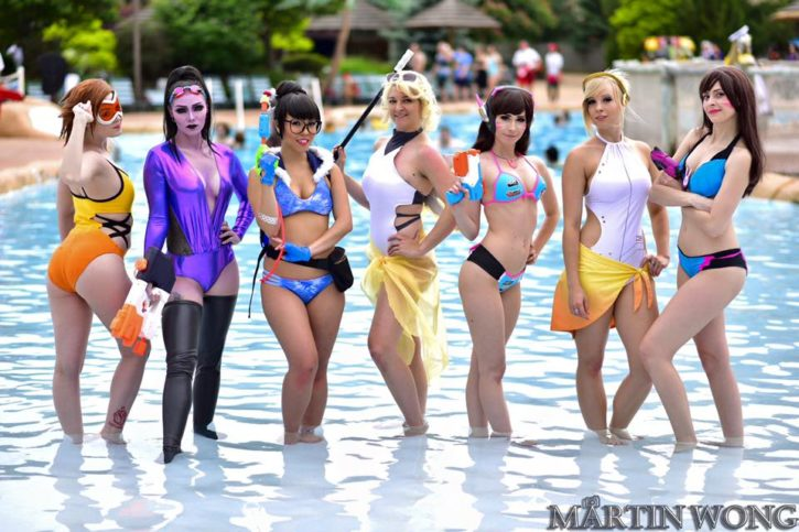 Sexy overwatch cosplay porn