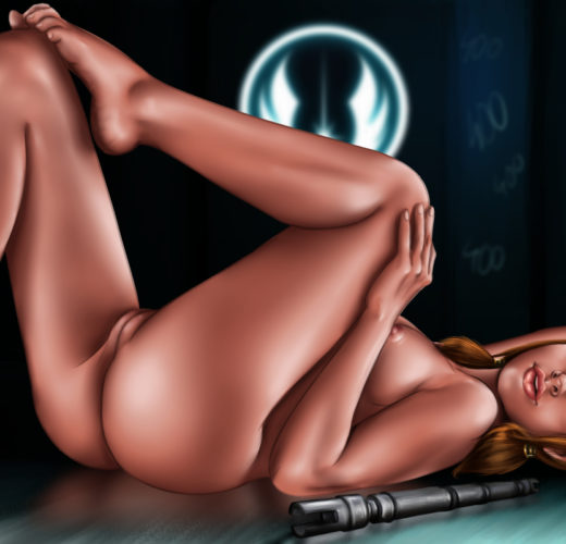 Bastila Shan Lounging About ~ Star Wars: The Old Republic Rule 34 by Bolondteri