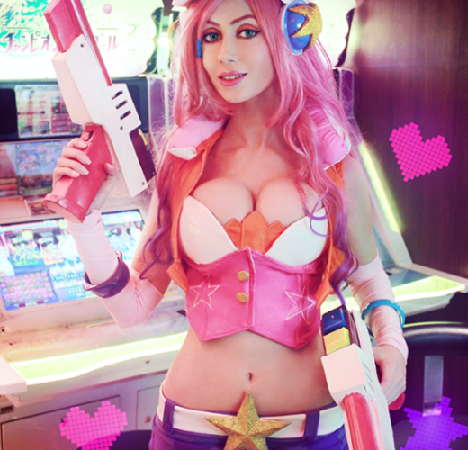 Arcade Miss Fortune ~ League of Legends Cosplay