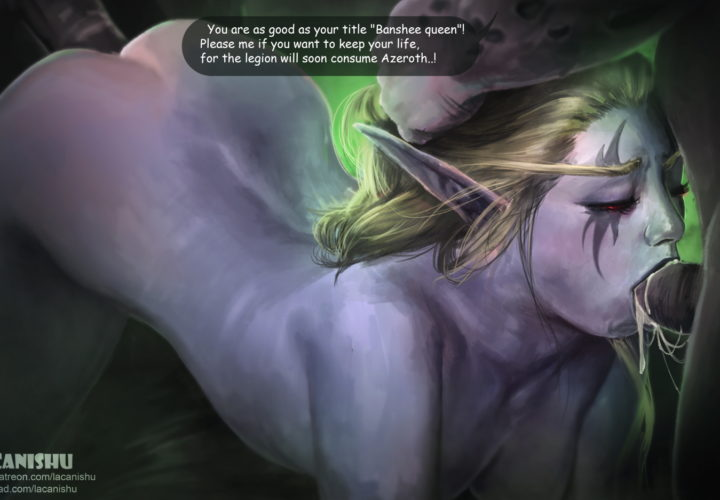 Sylvanas Windrunner World Of Warcraft Rule 34 By Lacanishu Nerd Porn Rule 34 is an internet joke that states that internet pornography exists concerning every conceivable topic. nerd porn