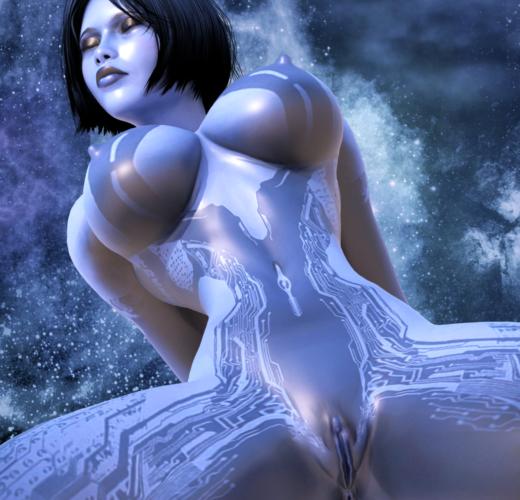 Cortana ~ Halo Rule 34