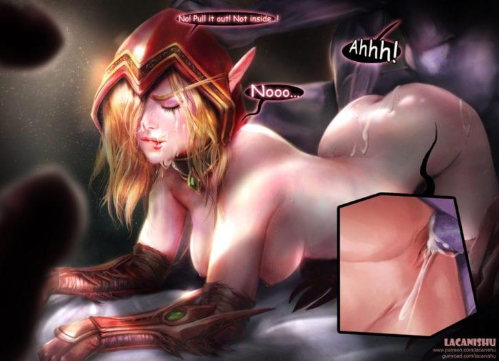 1851027 - Lacanishu Valeera_Sanguinar World_of_Warcraft blood_elf hearthstone