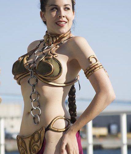 Aeryn Walker as Slave Leia ~ Sexy Cosplay