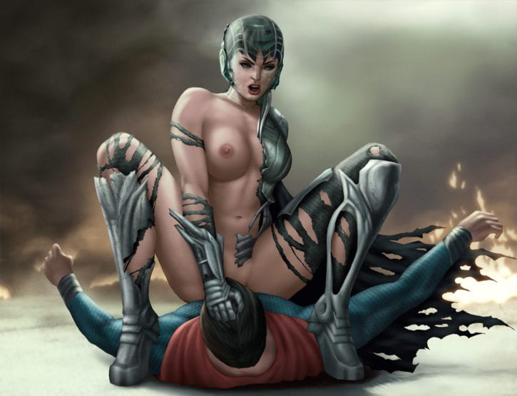 1148731 - DC Faora Man_of_Steel Superman wicka