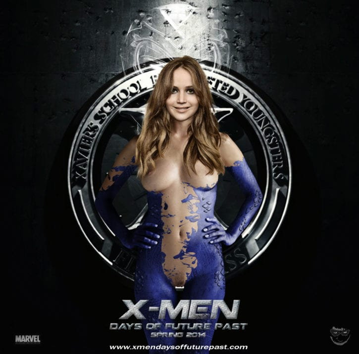 1151042 - Jennifer_Lawrence Marvel Mystique X-Men X-Men-_Days_of_Future_Past fakes