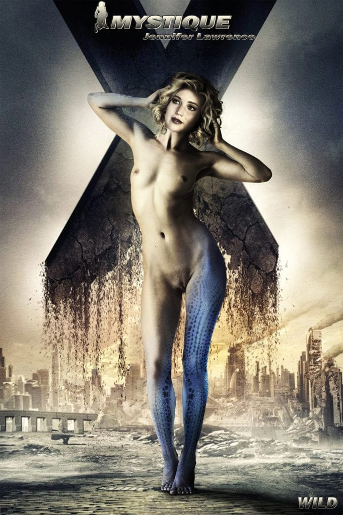 1449826 - Jennifer_Lawrence Marvel Mystique X-Men fakes