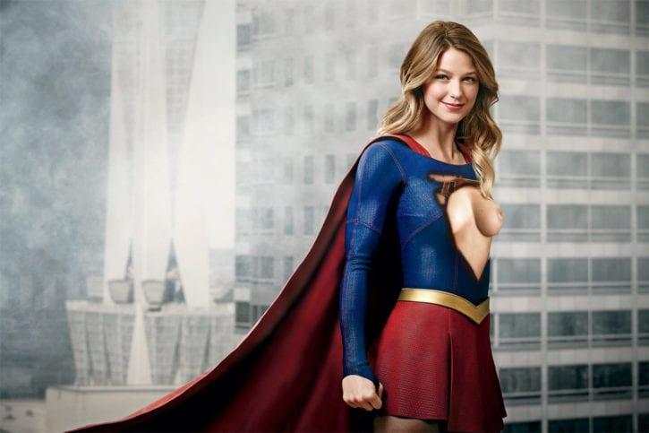 1883015 - DC Melissa_Benoist Supergirl Superheroine fakes michaljbscott