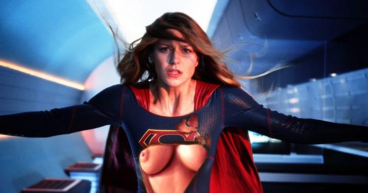 1883017 - DC Melissa_Benoist Supergirl Superheroine Superman_(series) fakes michaljbscott