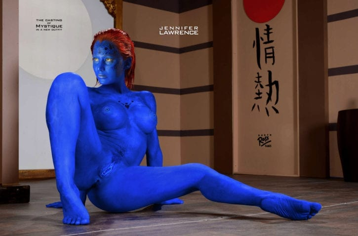 1952363 - Jennifer_Lawrence Marvel Mystique X-Men fakes