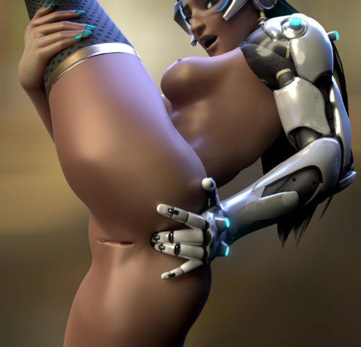 Symmetra's Shows Off Her Pussy ~ Overwatch Rule 34 by Likkez