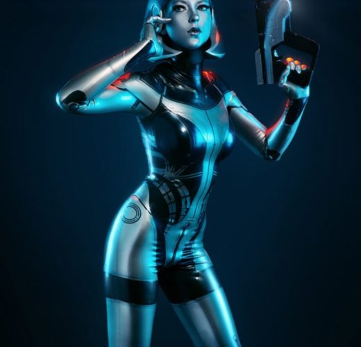 EDI ~ Mass Effect Cosplay by Blackwater Cosplay