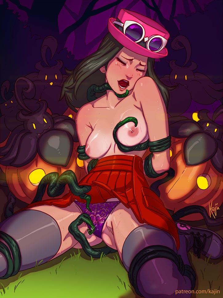 1727708 - Halloween Porkyman Pumpkaboo Serena kajinman