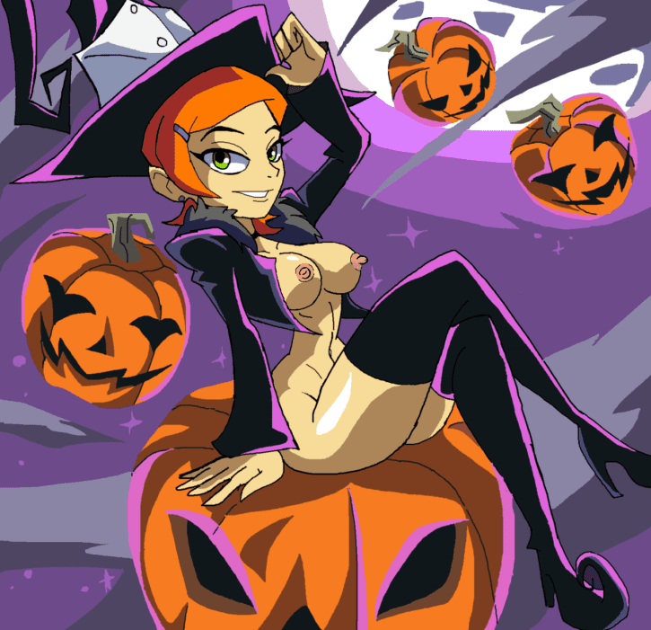 1785260 - Ben_10 Blair Gwen_Tennyson Halloween Manic47 Soul_Eater cosplay