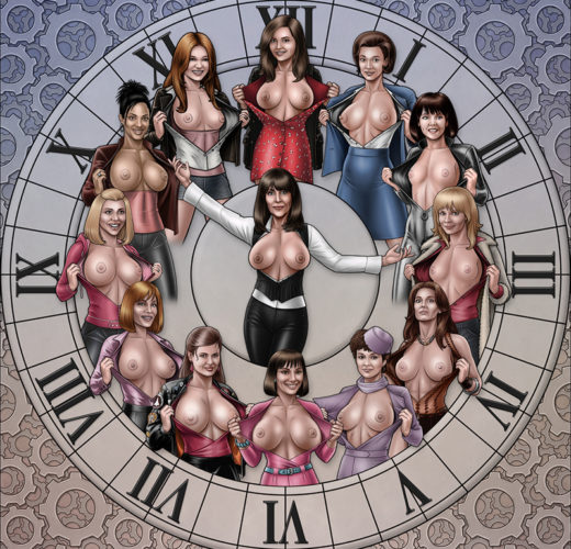 The Companions ~ Doctor Who Rule 34 by High-Heeled Jill