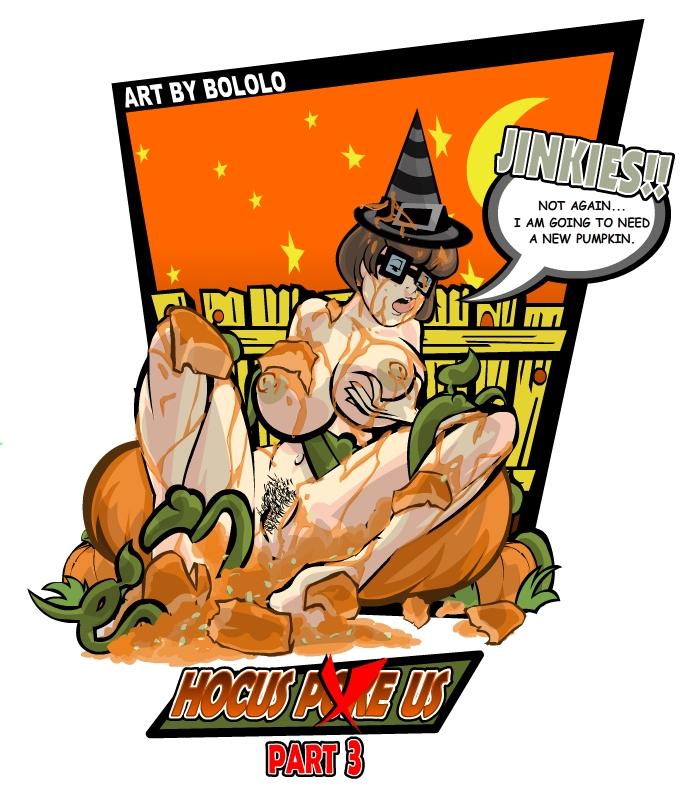 309191 - Halloween Jack_O'Lantern Scooby-Doo Velma_Dinkley bololo