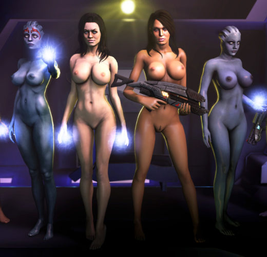 The Ladies of Mass Effect by The Firebrand