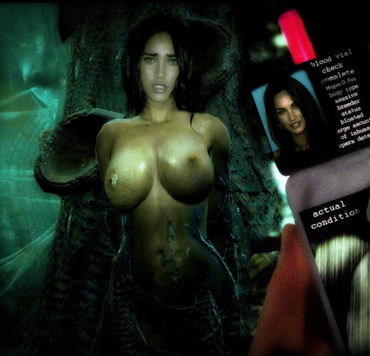 Celebs Captured by the Duke Nukem Forever Aliens ~ Rule 34 by TheHive