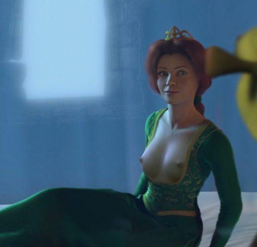 Fiona x Shrek ~ DreamWorks Rule 34