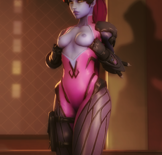 3D Overwatch Rule 34 by GeneralThunderbat
