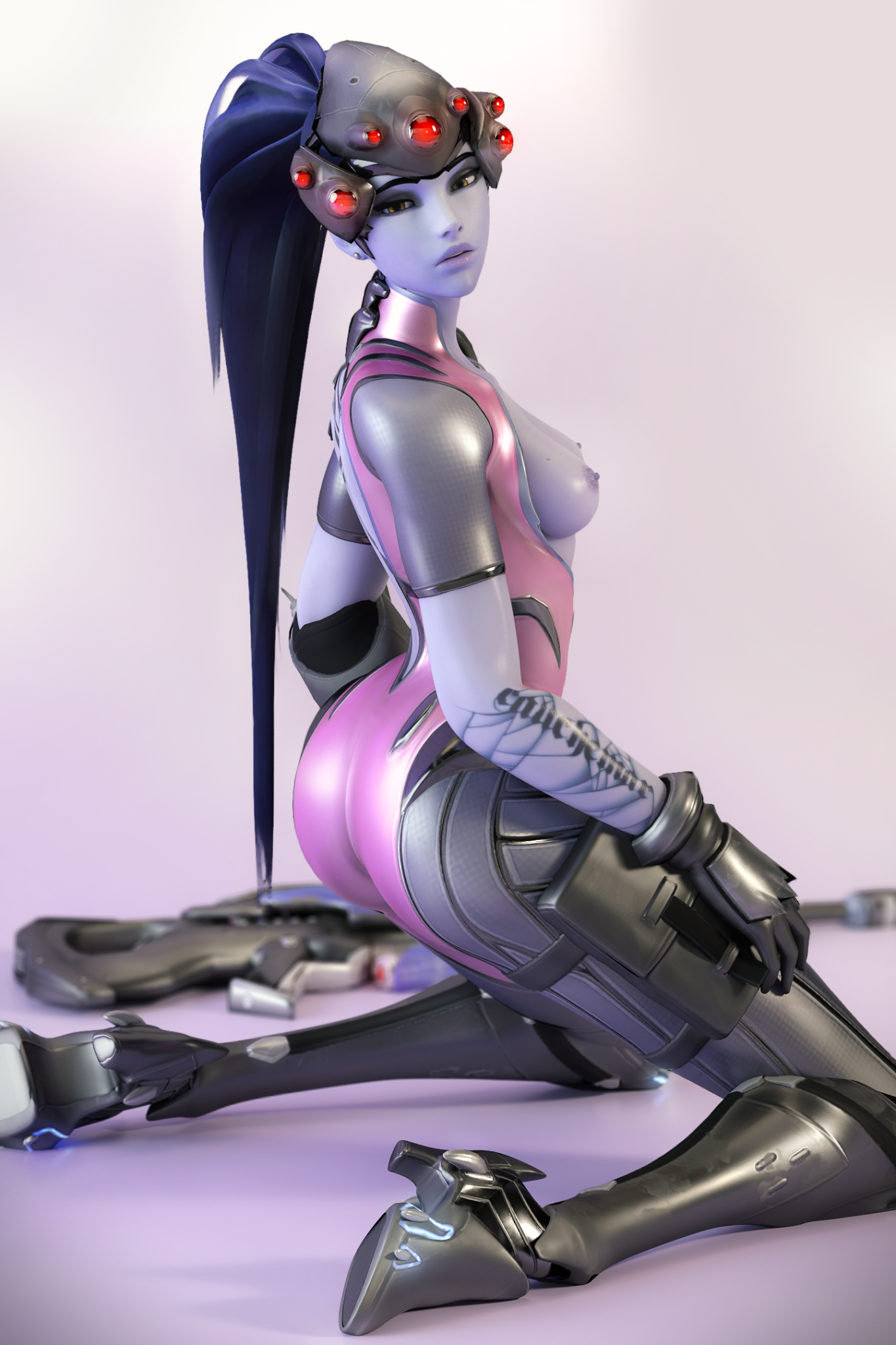 3D Overwatch Rule 34 by The-CrackFox