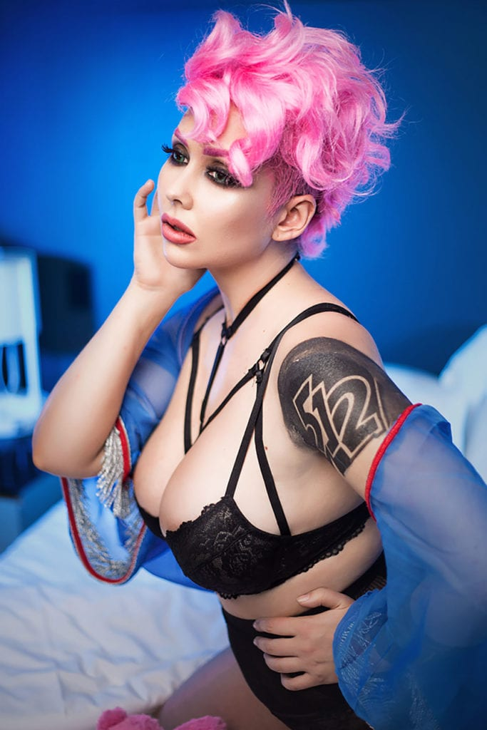 Underwatch ~ Sexy Boudoir-Inspired Overwatch Cosplay