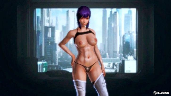 Major Motoko Kusanagi ~ Ghost in the Shell Rule 34 Collection [99 Pics]