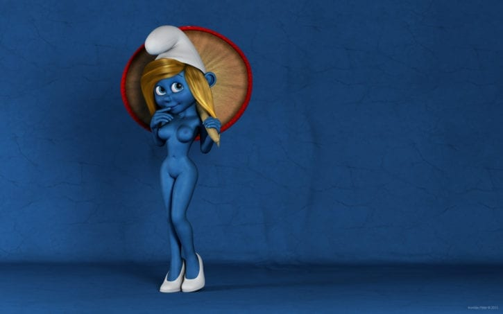 Smurfette from The Smurfs ~ Rule 34 Collection