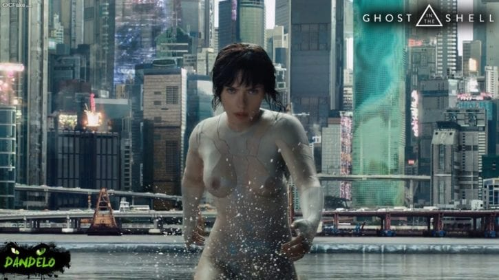 Scarlett Johansson in Ghost in the Shell ~ Movie Rule 34 Gallery [10 Pics]