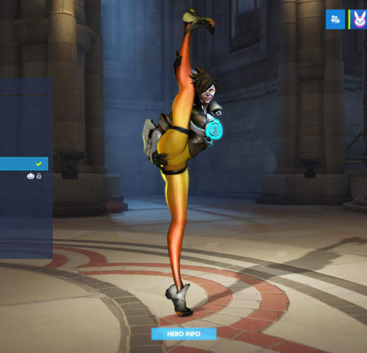 Tracer's Postgame Stretch ~ Overwatch Rule 34 by The Firebrand