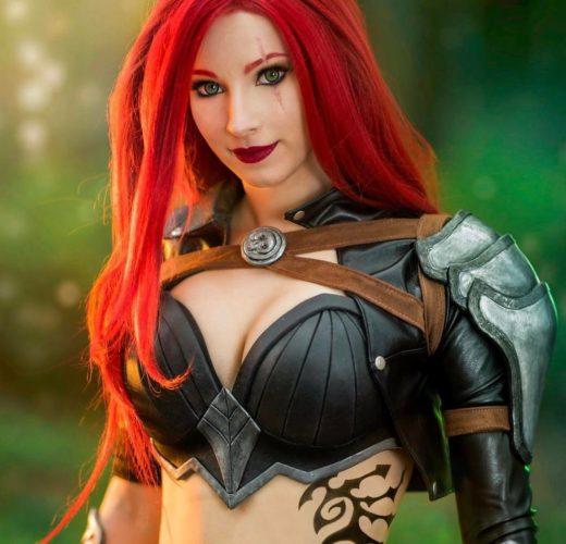 Enji Night as Katarina ~ League of Legends Cosplay