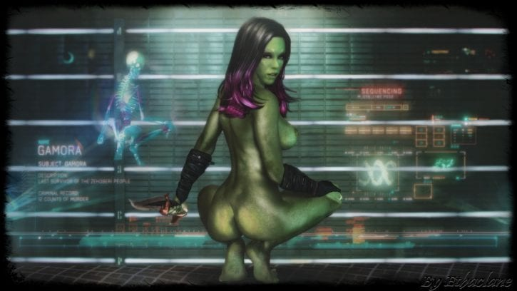 Guardians of the galaxy rule 34