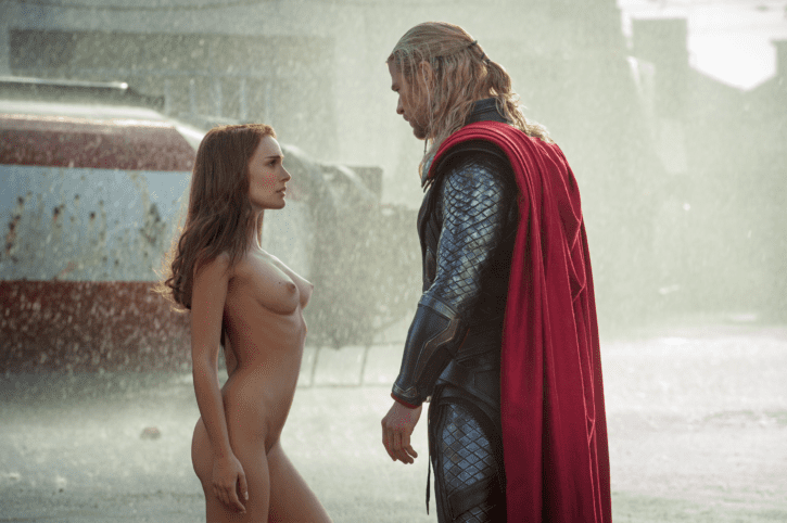 nude scene in thor of the girl