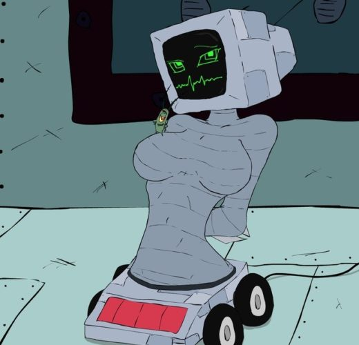 Karen being a Naughty Mark ll UNIVAC ~ SpongeBob Rule 34