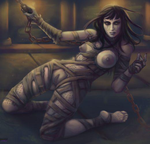 Sofia Boutella as The Mummy / Princess Ahmanet ~ Dark Universe Rule 34