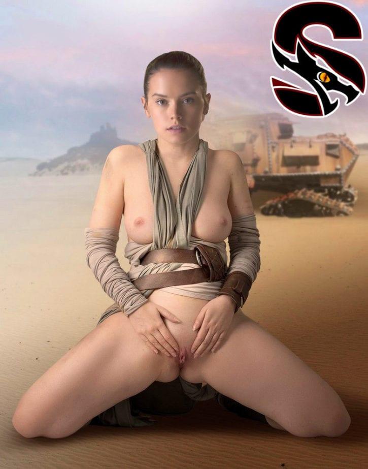 Star wars rey nude