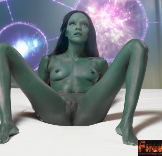 Gamora's Green Pussy ~ Guardians of the Galaxy Rule 34