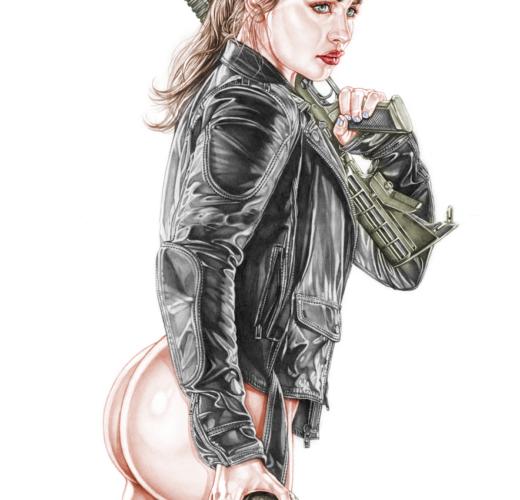 Sarah Connor from Terminator Genisys ~ Emilia Clarke Rule 34