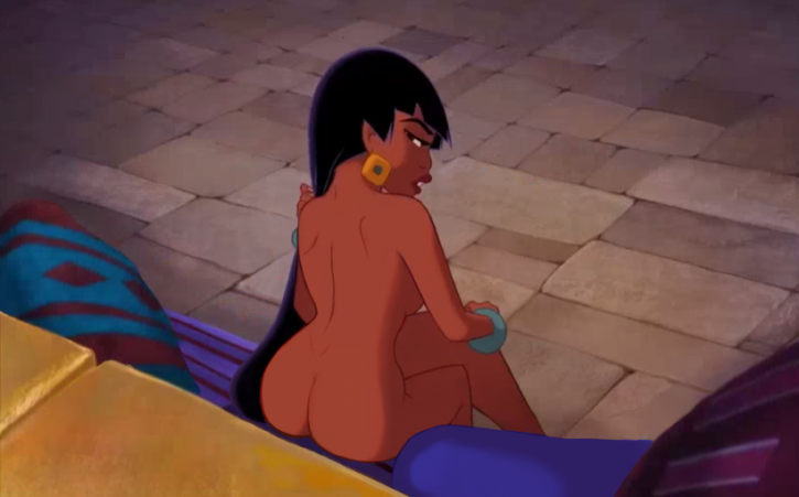 Nude girl from the movie el dorado