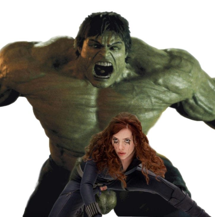 Scarlett Johansson as Black Widow ~ Marvel Cinematic