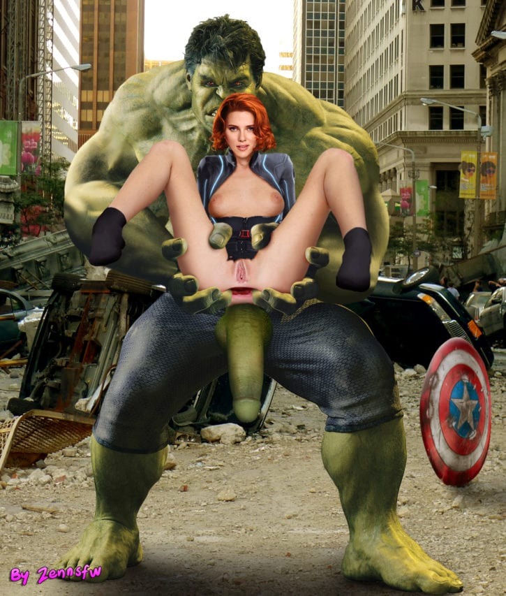 That black widow avengers porn
