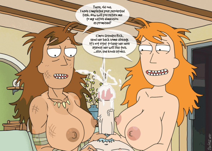 RICK AND MORTY SUMMER BOOBS NUDE