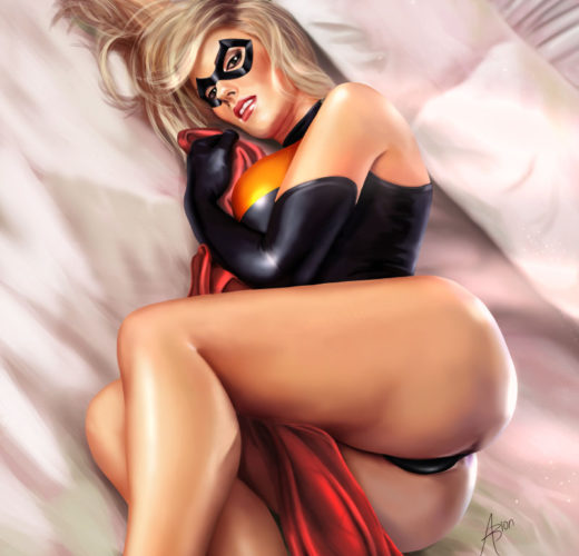 Ms. Marvel ~ Comic Book Rule 34 by Arion